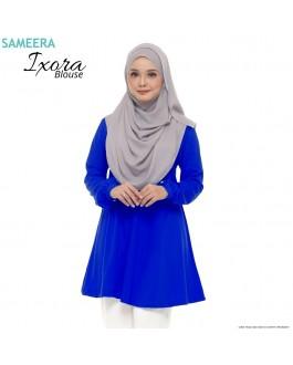 Blouse Muslimah IXORA Royal Blue