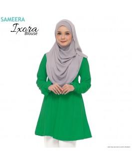 Blouse Muslimah IXORA Green
