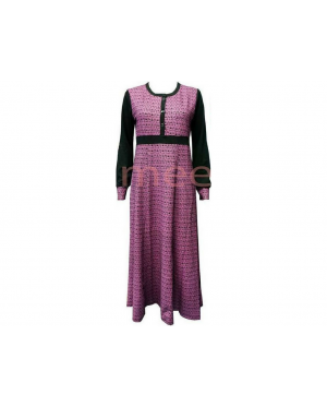 Jubah Jameela JJ504B(Pink)