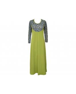 Jubah Wafiyya WJ107B(Green)