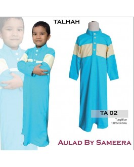 Jubah Aulad Talhah T02(Turquoise)