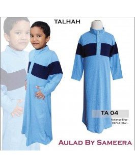 Jubah Aulad Talhah T04(Light Blue)