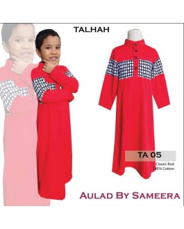 Jubah Aulad Talhah T05(Red)