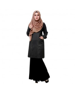 Sameera Dalia Denim Black