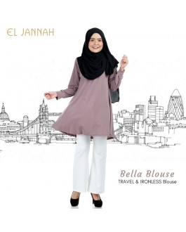 El Jannah Bella Blouse Copper Brown