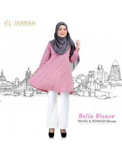 El Jannah Bella Blouse Dusty Pink