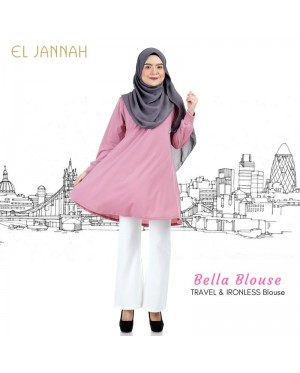El Jannah Bella Blouse Dusty Pink