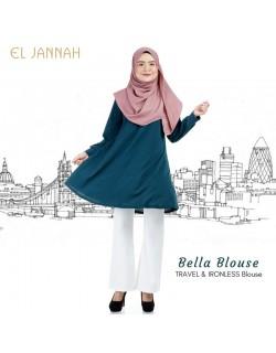 El Jannah Bella Blouse Emerald Green