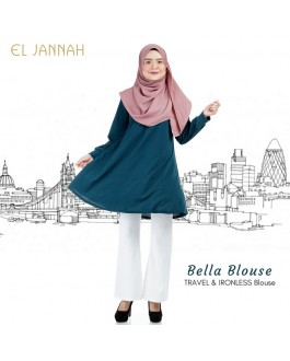El Jannah Bella Blouse Emerald Green