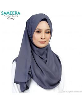 Sameera Premium Deana Shawl Grey